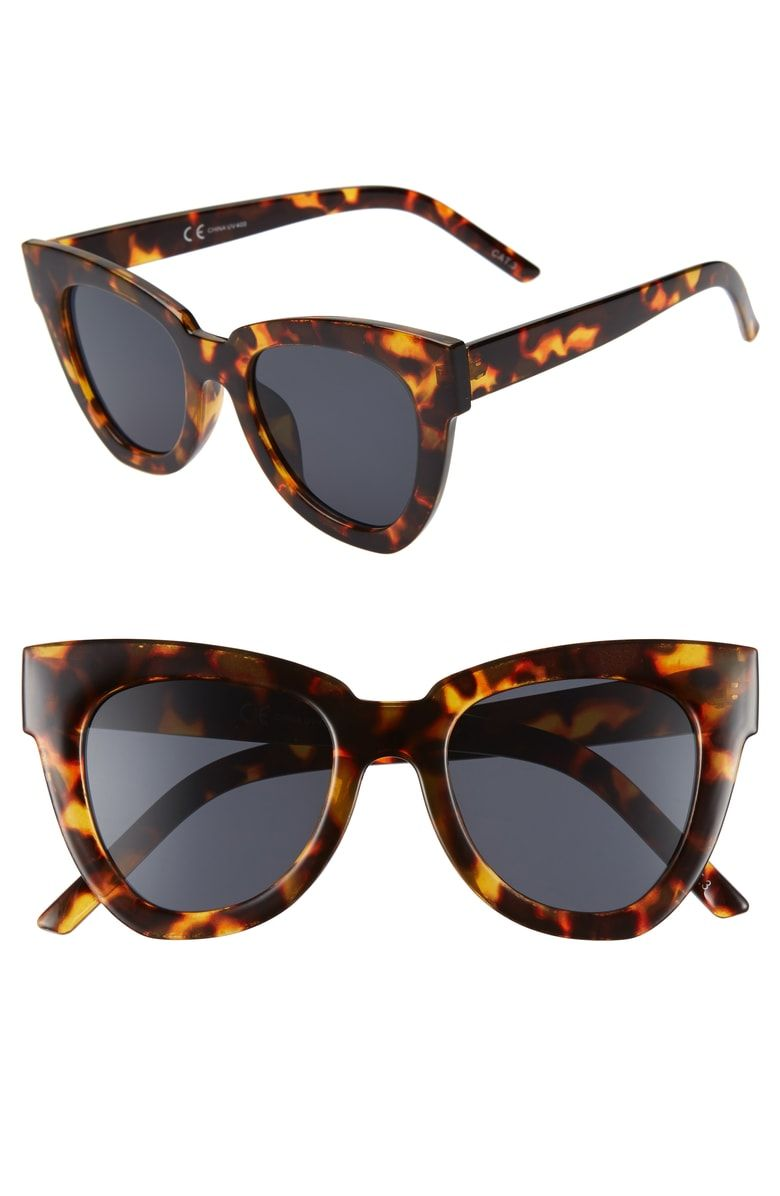 a65df6e242c Free shipping and returns on Shady Lady Hayley 50mm Cat Eye Sunglasses at  Nordstrom.com
