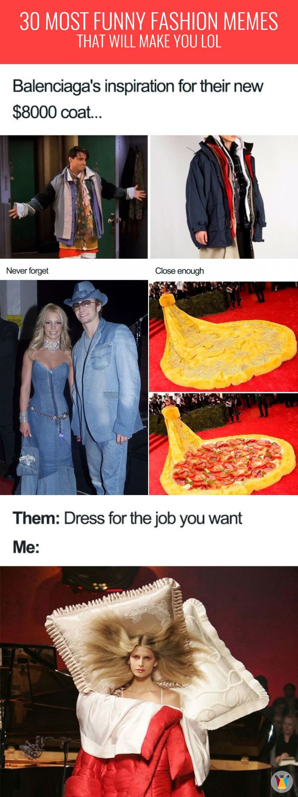 Listed Her Are 30 Most Hilarious Fashion Memes That Will Make You Laugh Out Loud Funny Funnypics Funnypictures Entertai Funny Fashion Fashion Fail Fashion [ 2674 x 1000 Pixel ]