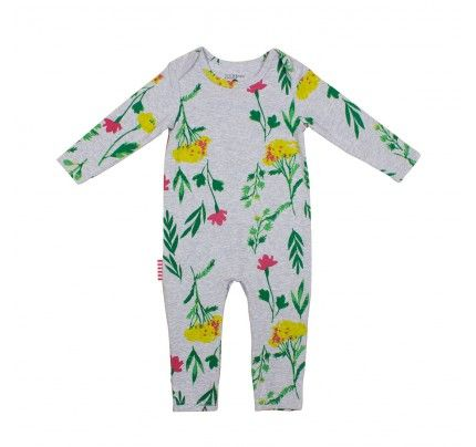 SOOKIbaby Arty Classic Long Sleeve Romper, available from Baby Dino, www.babydino.com.au