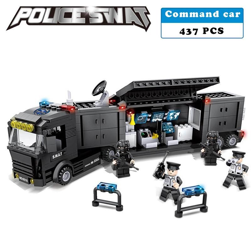 Police and S.W.A.T building blocks
