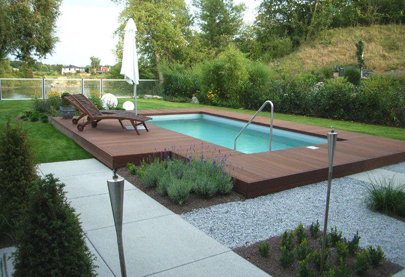 gartenanlagen mit pool – colorseven, Haus und garten