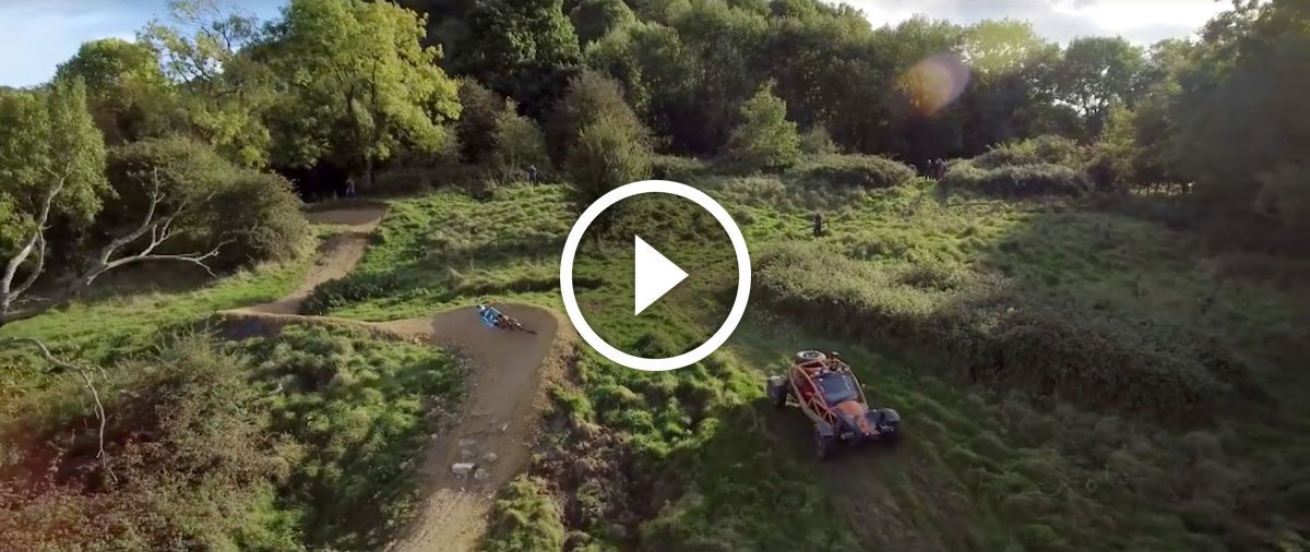 Watch: Mountain Bike VS Dune Buggy http://www.singletracks.com/blog/mtb-videos/watch-mountain-bike-vs-dune-buggy/