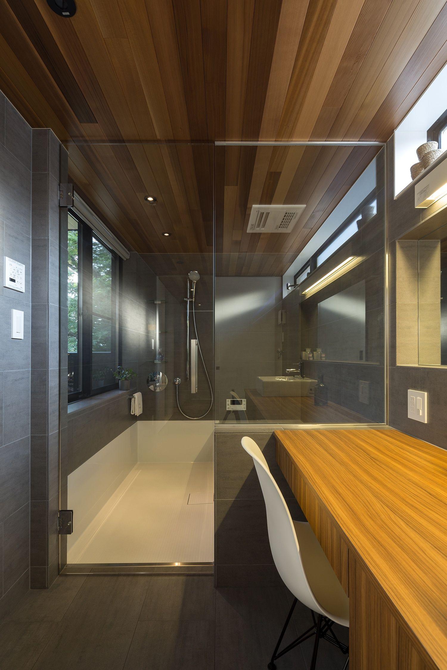 Ot House バス 浴室 重量木骨の家 選ばれた工務店と建てる木造注文