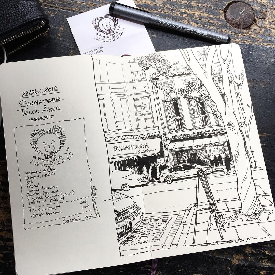 Lunch Time A Quick Half An Hour Sketch Bystrenkij Obedennyj
