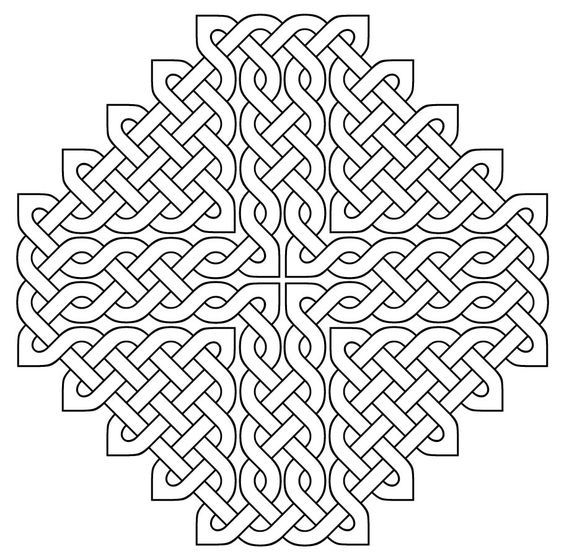 Celtic designs - Coloring Pages & Pictures - IMAGIXS: | Colorbook ...