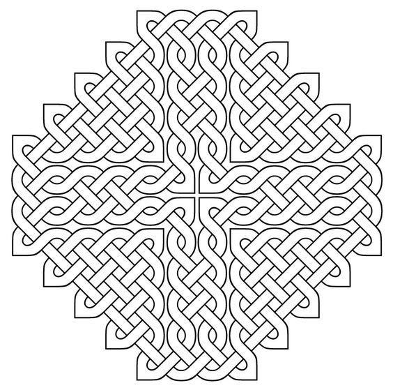 celtic designs coloring pages pictures imagixs - Celtic Knot Coloring Pages