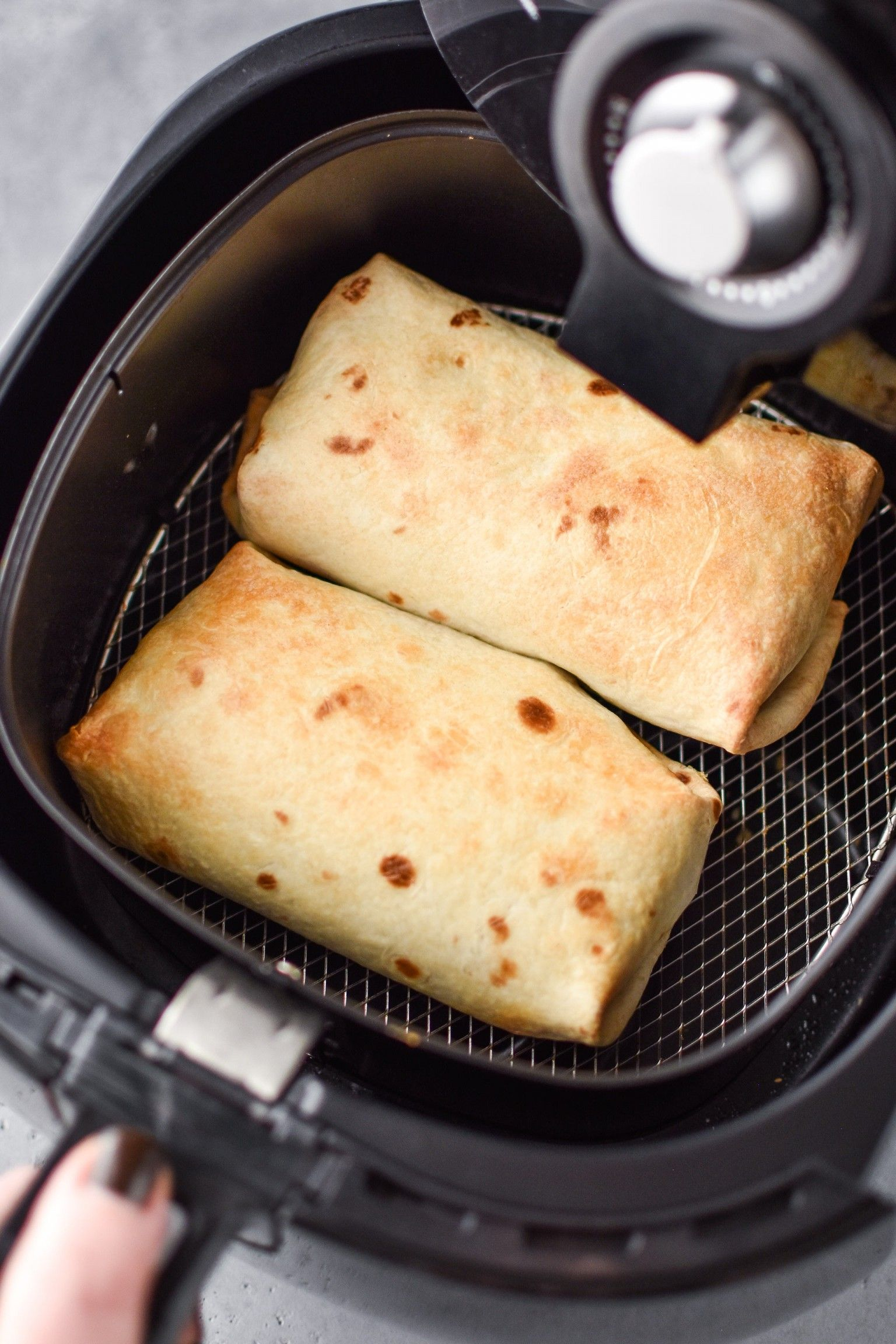 How to Make Chimichangas in an Air Fryer #airfryerrecipes
