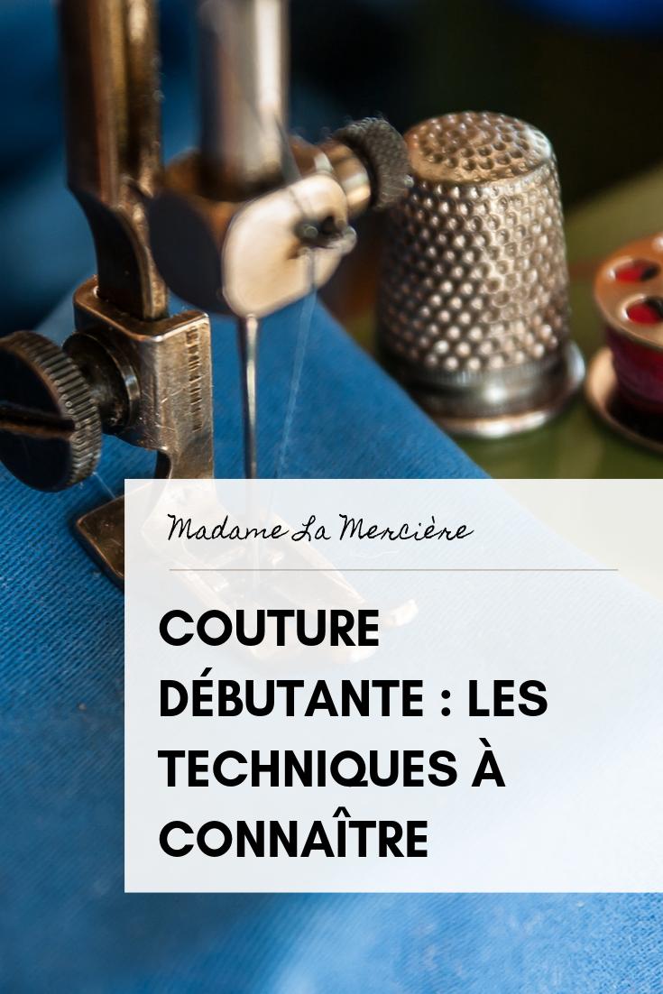 Couture débutant