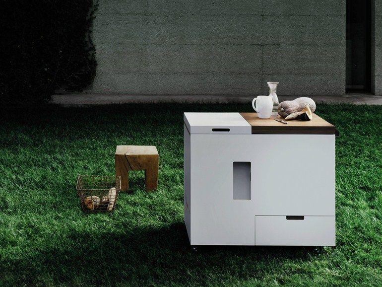 Mini Kitchen Minikitchen Outdoor By Boffi Mini Cocina Cocina Al Aire Libre Disenos De Unas