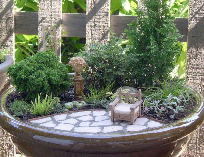 Mini jardin idées pour la maison Pinterest Mini jardins, Minis