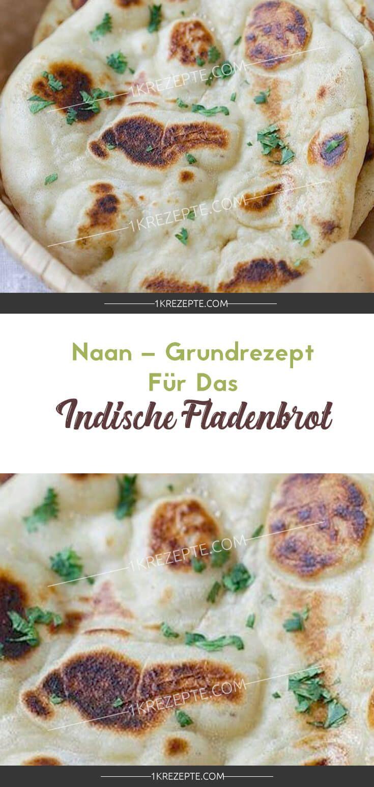 Naan – Grundrezept für das indische Fladenbrot #vegetariangrilling