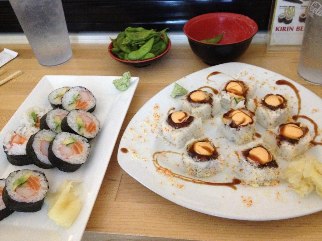 Favorite sushi place in Des Moines: Miyabi 9 (Captain Crunch roll ...