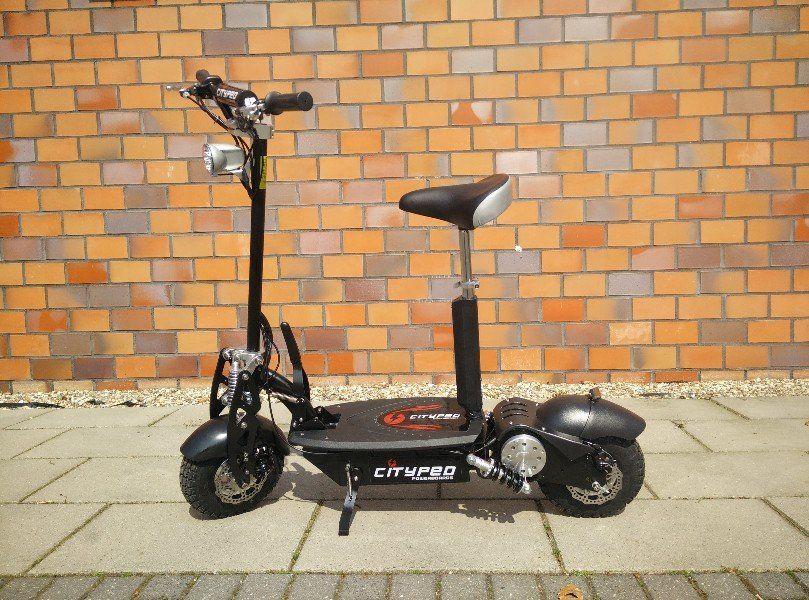 Elektrische step Cityped | Loopfiets volwassenen | Pinterest