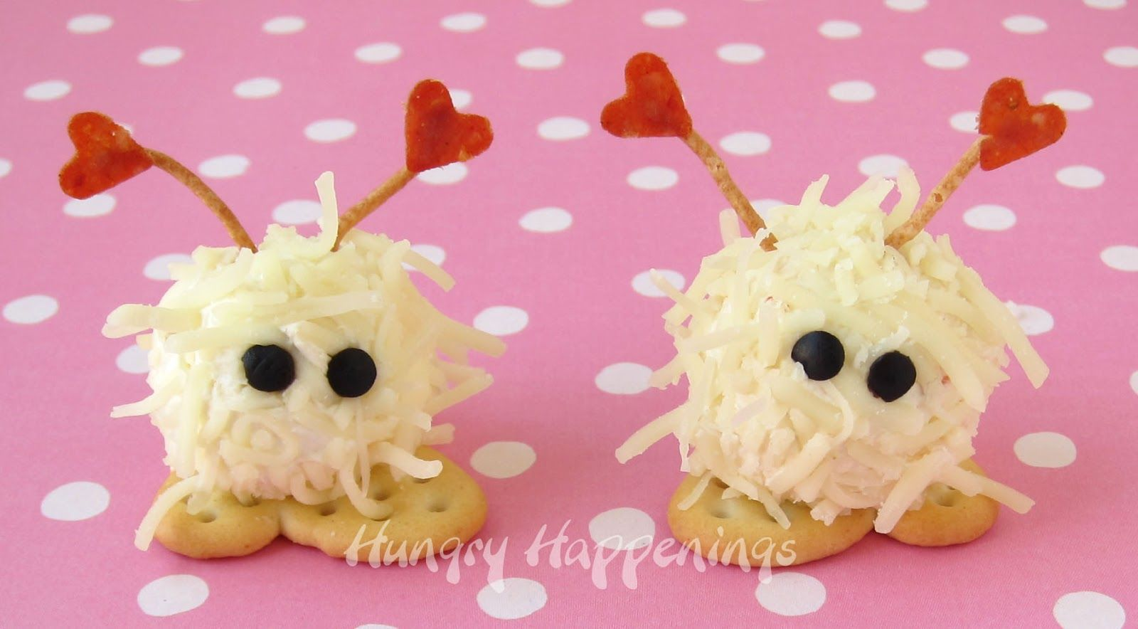 Mini Cheese Ball Warm Fuzzies A Cute Valentine S Day Snack Kids