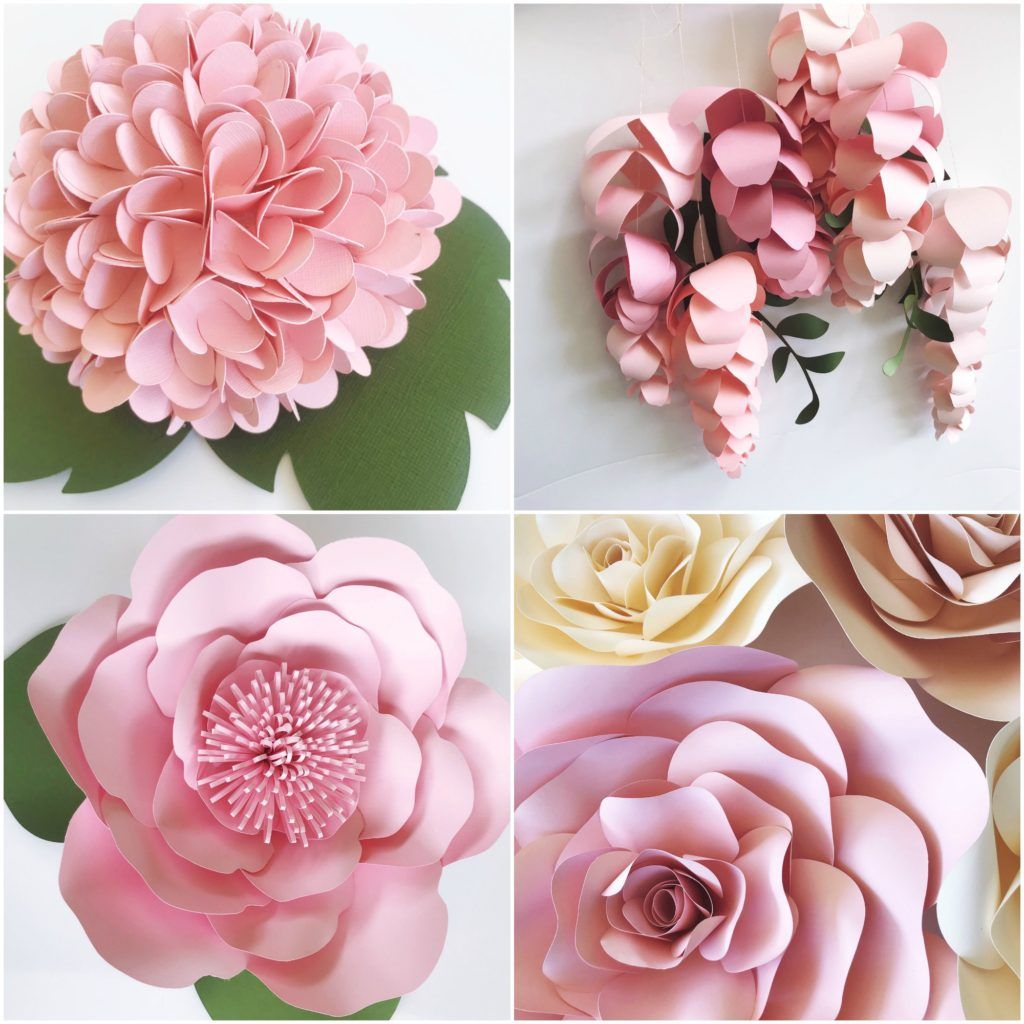New Paper Flower Template Blooms In 2020 Paper Flower Template Flower Template Paper Flowers Wedding