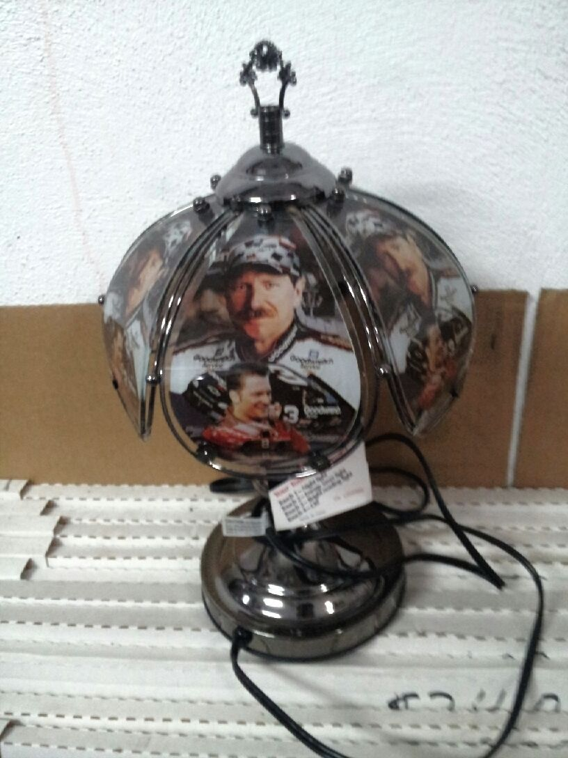 b80c950aeba DALE EARNHARDT JR. AND SR. TOUCH LAMP