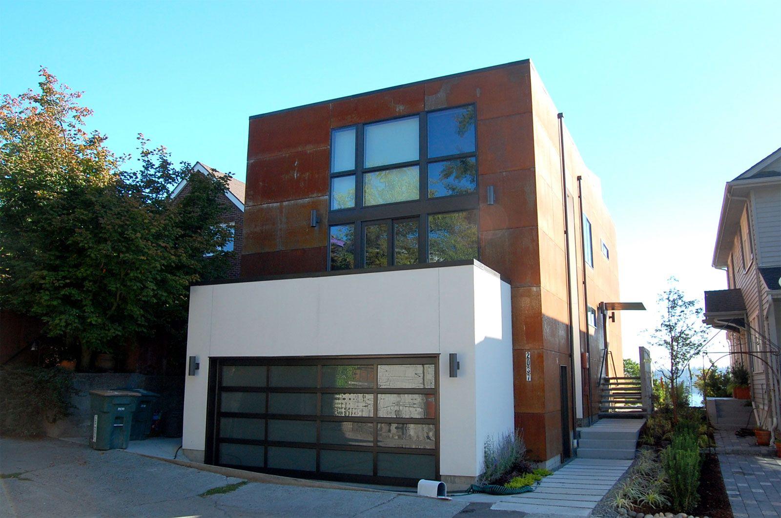 modern house stucco Modern House