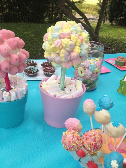Decoraci n para fiestas y primeras comuniones decoraci n - Ideas para decorar una mesa de comunion ...