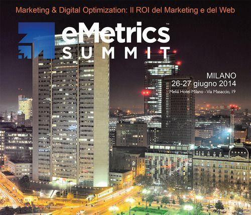 Julius Van De Laar all'eMetrics Summit di Milano