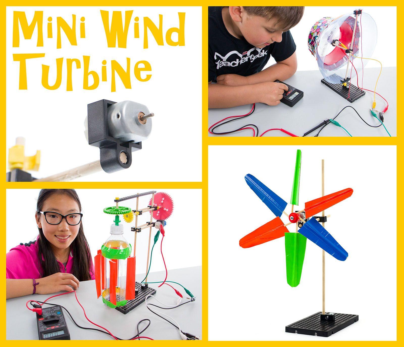 Mini Wind Turbine Activity Documents | Middle School STEM | STEAM