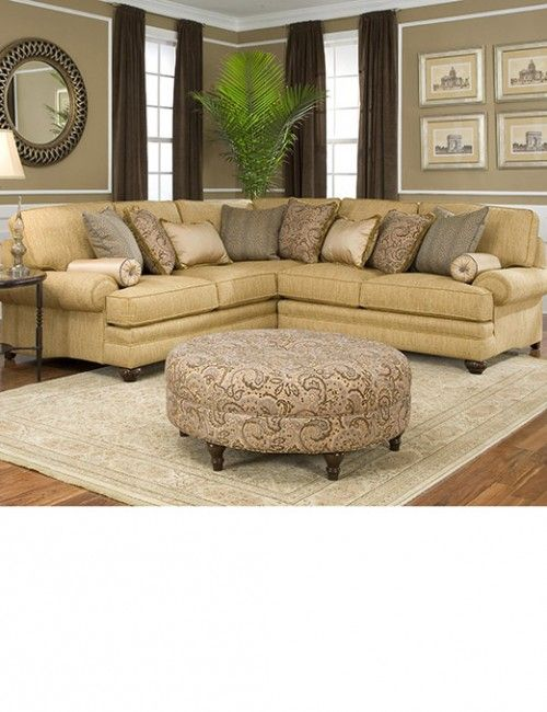 High End Traditional Sectional Sofa с