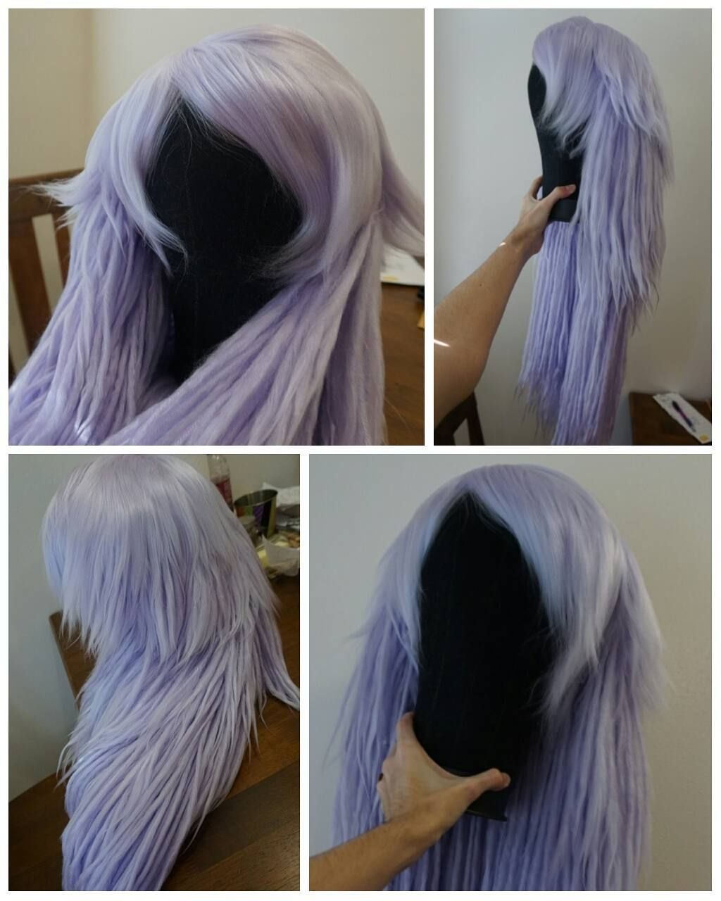 Comic Con Society Yarn Wig Diy Wig Crochet Wig