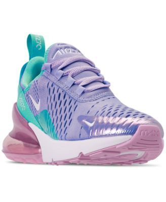 buy popular 914d8 af5e1 Nike Girls' Air Max 270 Unicorn Casual Sneakers from Finish ...