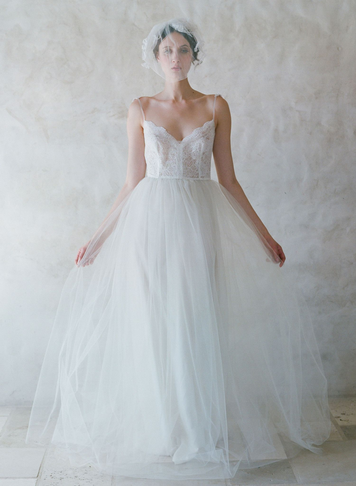 Jubilee - Lace and tulle ballgown - Style #TH004   Wedding dress ...
