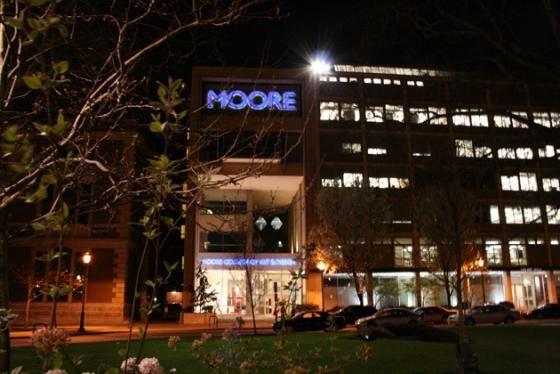 Moore at Night