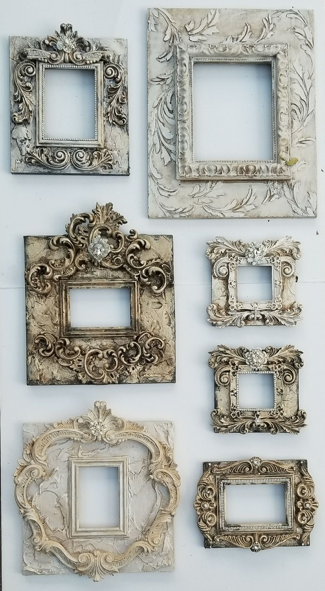 Michelle Butler Designs Picture Frames Handpainted & Jeweled SHOP ...