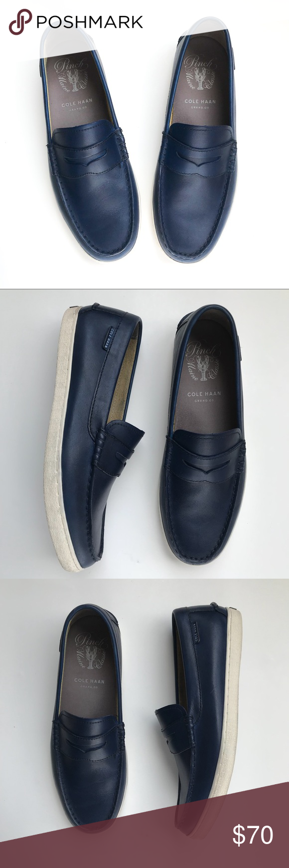 7d8e4331473 Cole Haan Grand OS Pinch Maine Classic Loafers 10M Cole Haan Grand OS Pinch  Maine Classic
