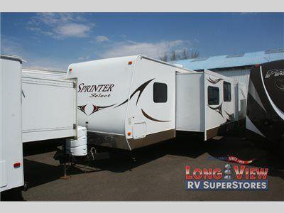 Used 2011 Keystone Rv Sprinter Select 31bh Travel Trailer At