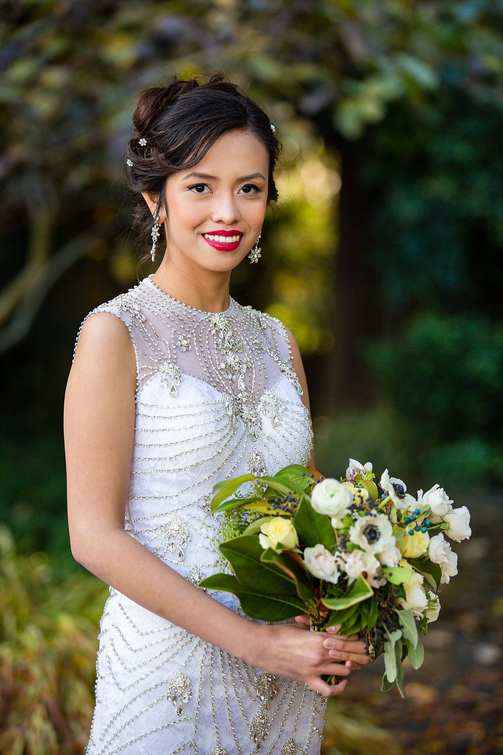 seattle wedding for asian bride , on demand hair in california and