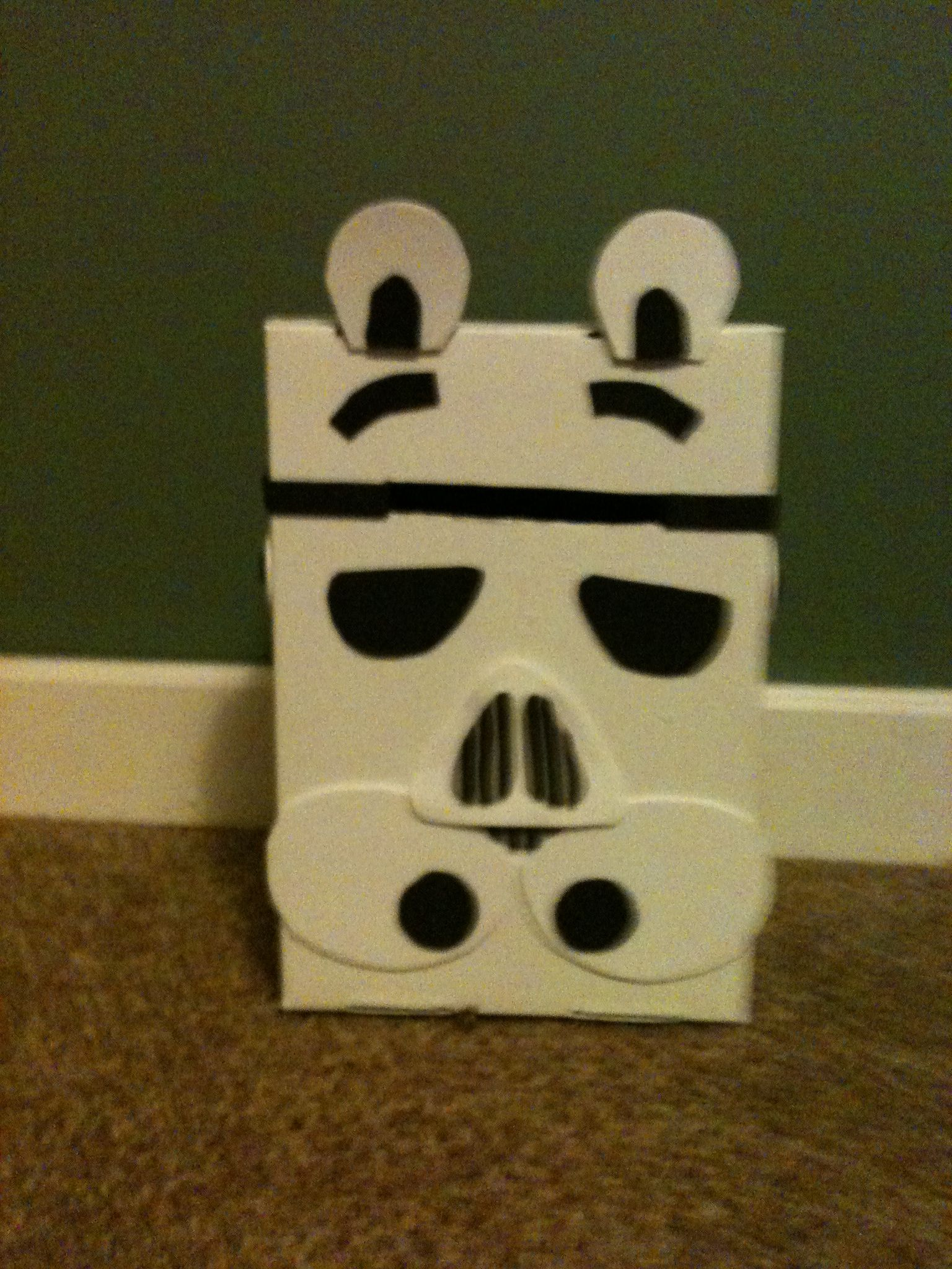 Angry Birds Star Wars Stormtrooper Valentine Box!