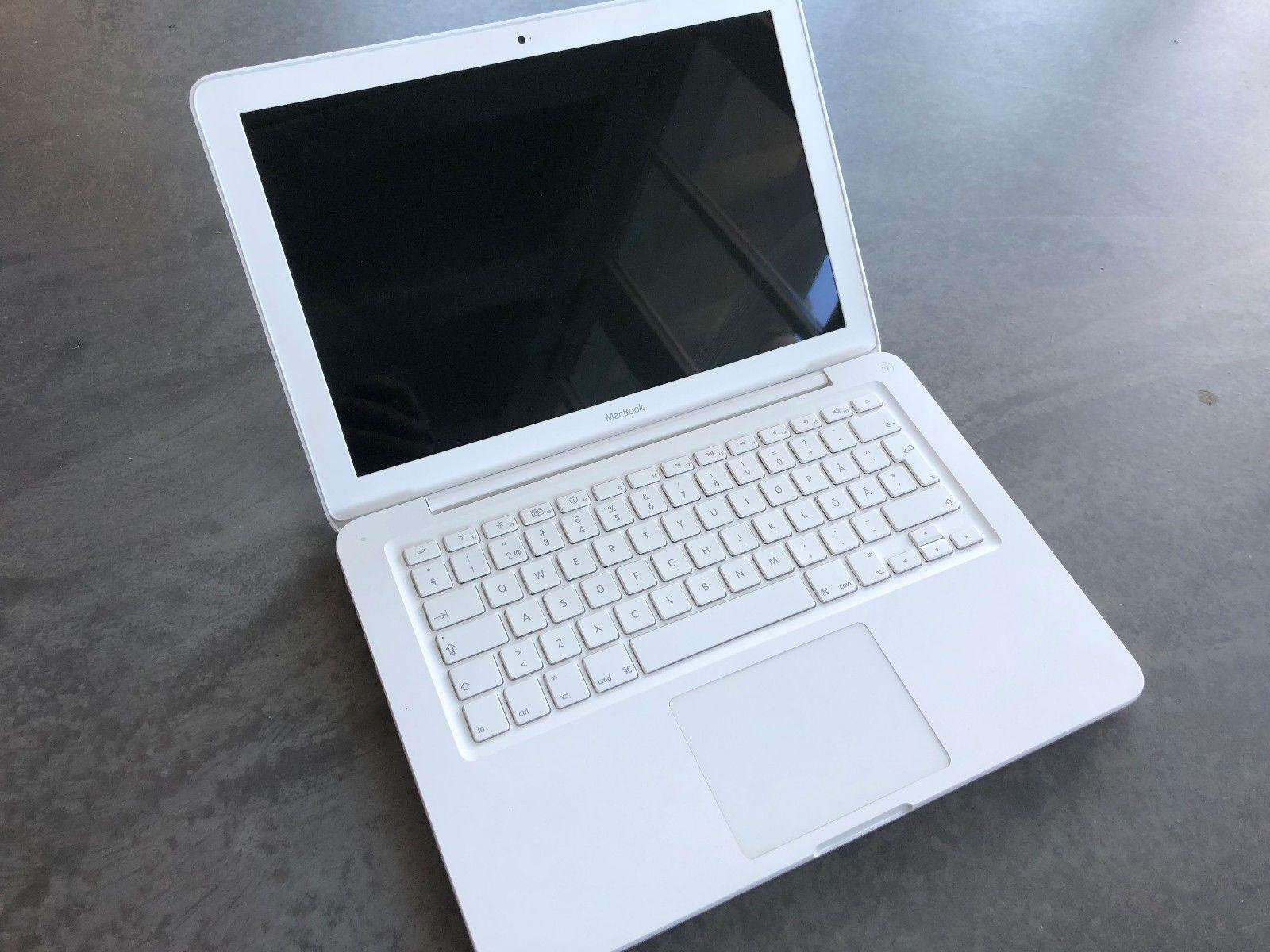 Apple Macbook Blanco 13 3 Core2duo 2 4 2gb Ram 250gb Hdd High Sierra Bluetooth Ebay Apple Laptop Apple Macbook Macbook