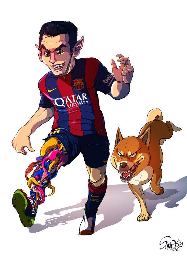 Football players messi 2014