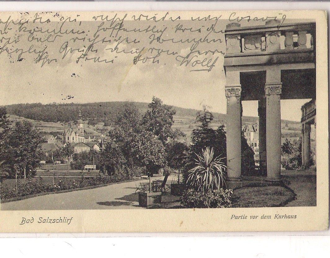 Vor der Wandelhalle 1916