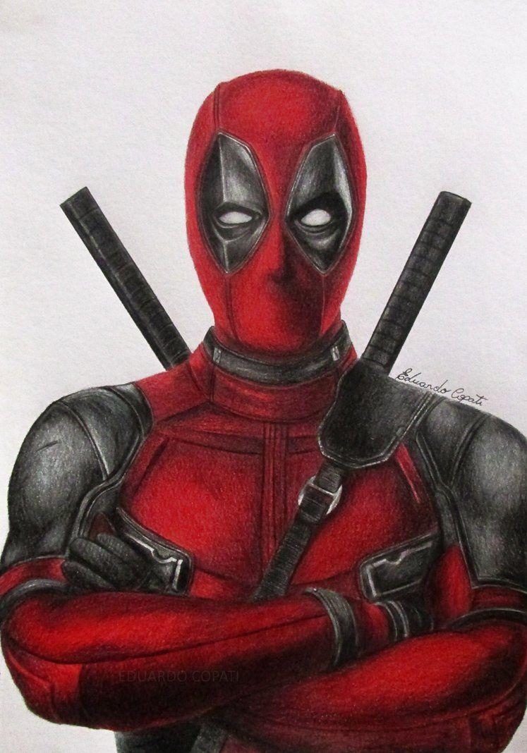 Pin by HERO WORLD! on DEADPOOL: HEAD AND SHOULDER ... X Men Deadpool Drawings