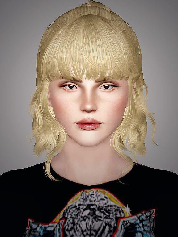 Newseas Lavender Hair Retextured By Sweet Sugar Sims 3 Downloads