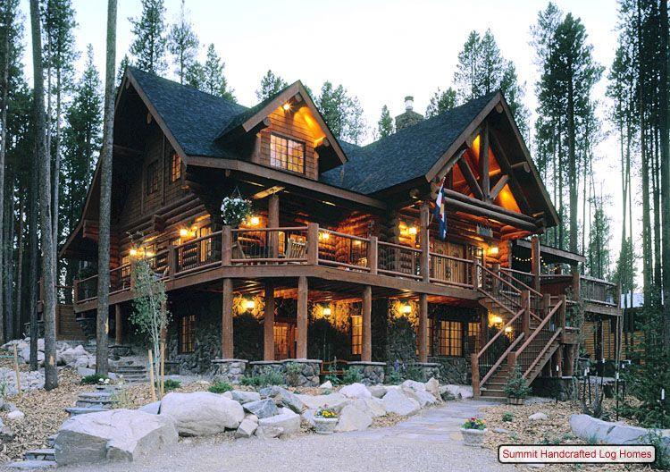 Log Cabin Homes Exterior