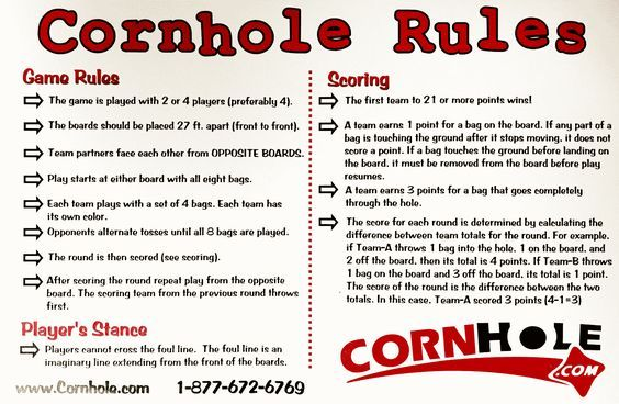 Sensational Pin By Lynette On Diy Projects Cornhole Rules Corn Hole Onthecornerstone Fun Painted Chair Ideas Images Onthecornerstoneorg
