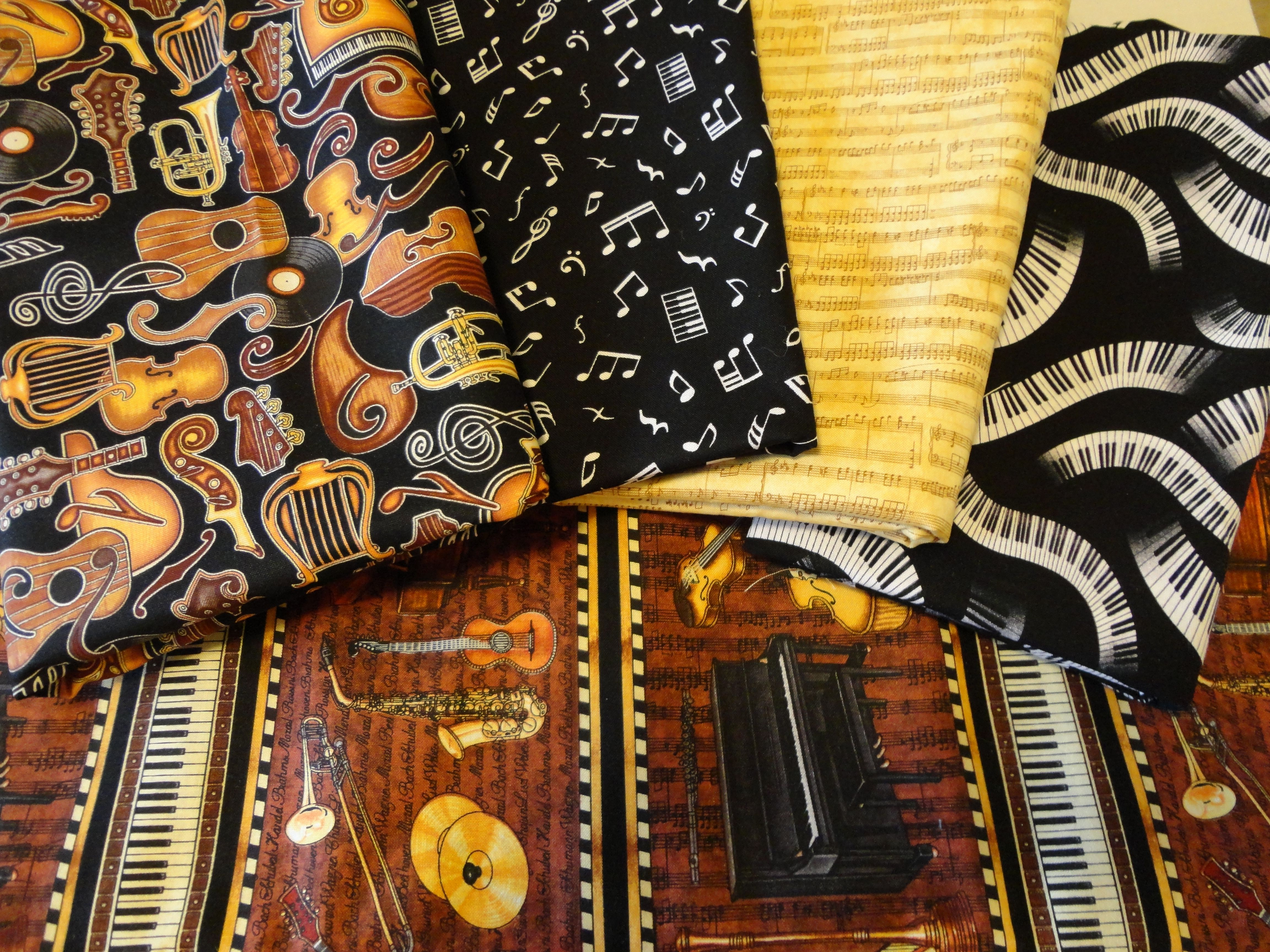 Google themes music - Musical Themed Fabric Google Search