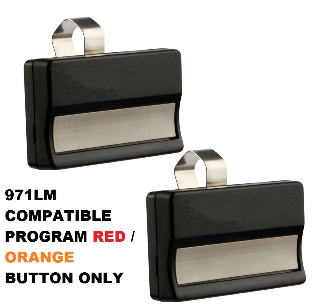 2 For 971lm Liftmaster Sears Craftsman 973lm Security Remote 390mhz Transmitter Liftmaster Sears Craftsman Garage Door Opener Remote