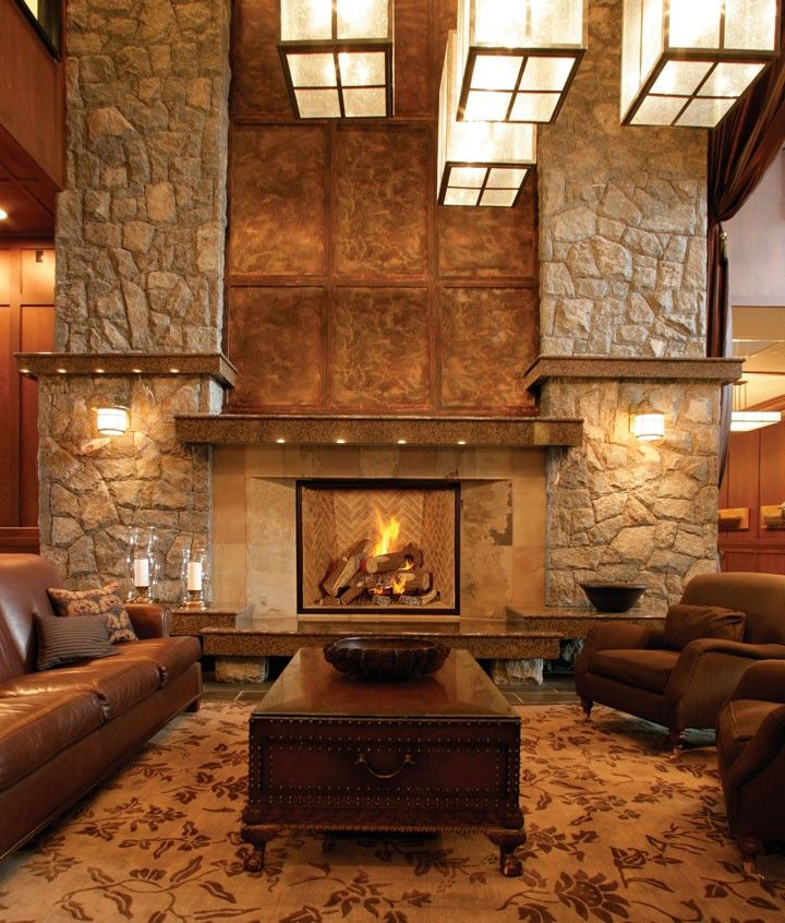 real wood fireplaces my new home Pinterest Hogar, Ventanas and
