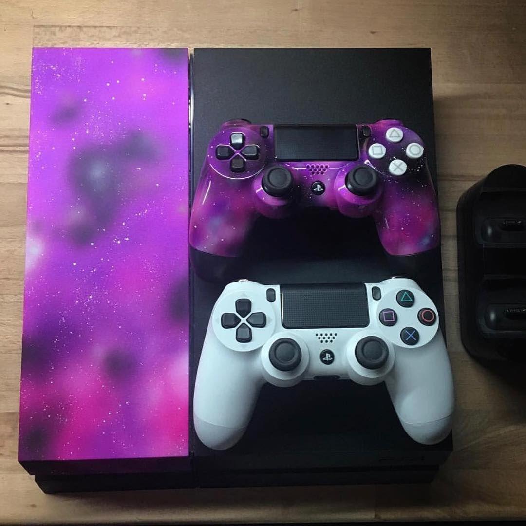 Galaxy #ps4 #playstation #playstation4 #custom #customps4 #gaming