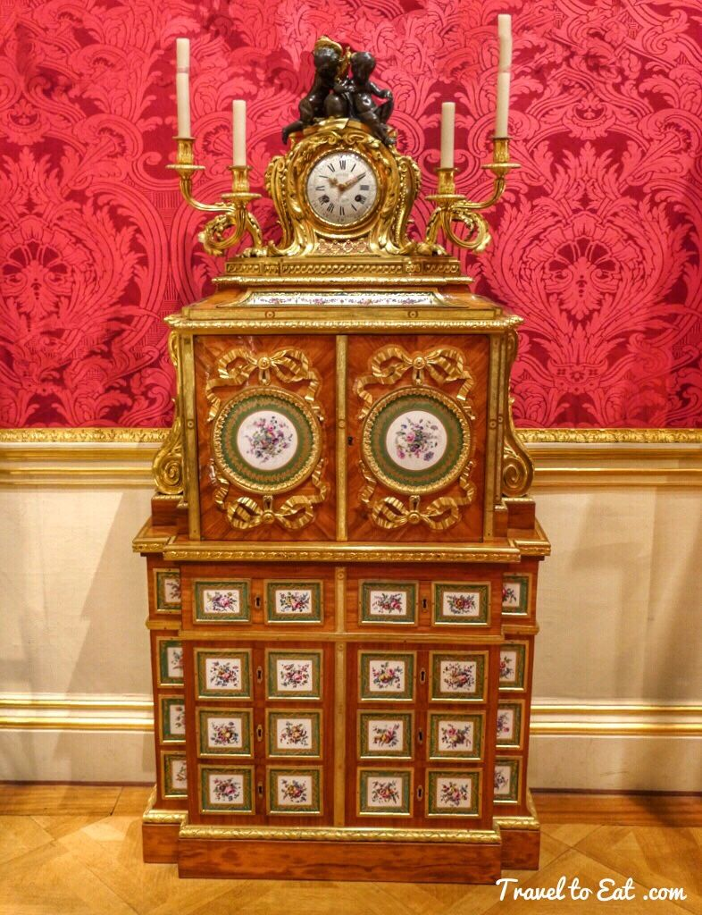 Filing Cabinet And Clock. Cabinet By Jean François Leleu 1766 67. Wallace