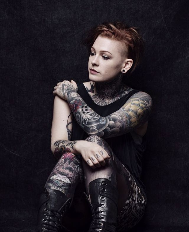Lou Hopper Is Stunning #beautiful#stunning#Tattoos