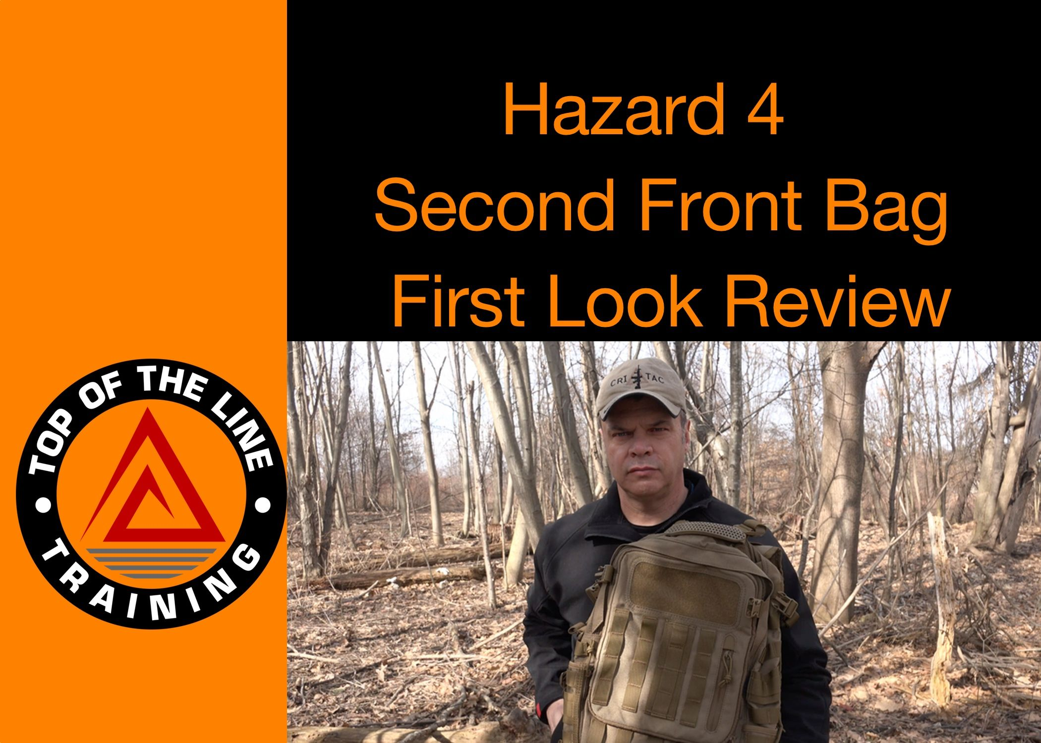 Check out my review on the Hazard 4 Bag...Second Front