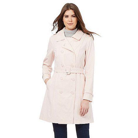 RJR.John Rocha Pale pink mac coat- | Debenhams | Outfits ...