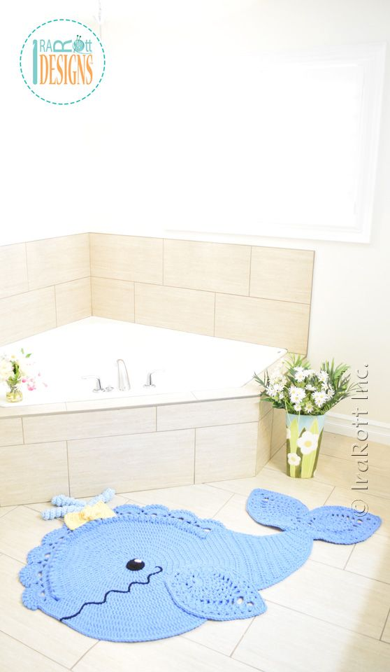 Joyce and Justin Whale Rug Crochet pattern by IraRott has just been released!